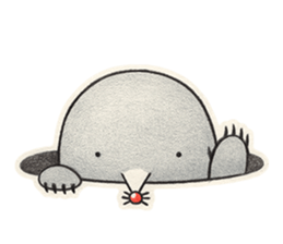 The Mole Stickers messages sticker-6