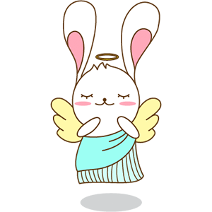 Red The Rabbit - Sticker Pack For iMessage messages sticker-9