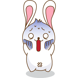 Red The Rabbit - Sticker Pack For iMessage messages sticker-8