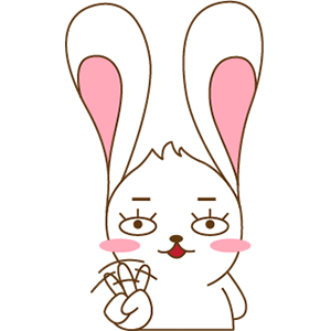 Red The Rabbit - Sticker Pack For iMessage messages sticker-3