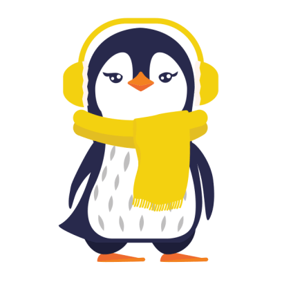 Love Penguins - Animated Pack for Valentines Day messages sticker-5