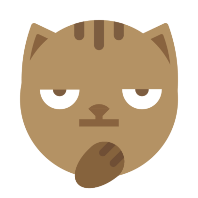 MoJi Cat - Animated Sticker Pack (Cool Kitty) messages sticker-7