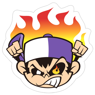Angry Monkey Sticker messages sticker-6