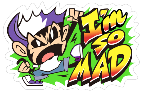 Angry Monkey Sticker messages sticker-1