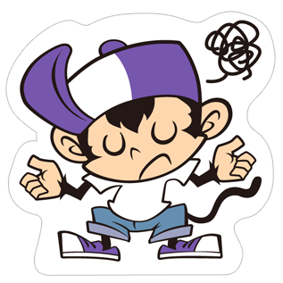 Angry Monkey Sticker messages sticker-8