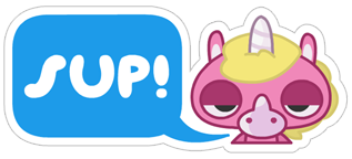 Jeff the Unicorn messages sticker-0