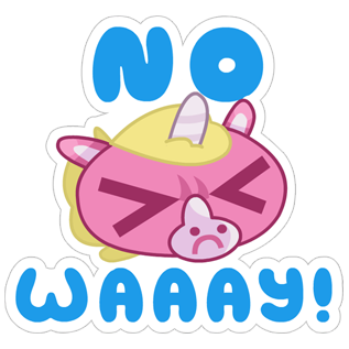 Jeff the Unicorn messages sticker-3