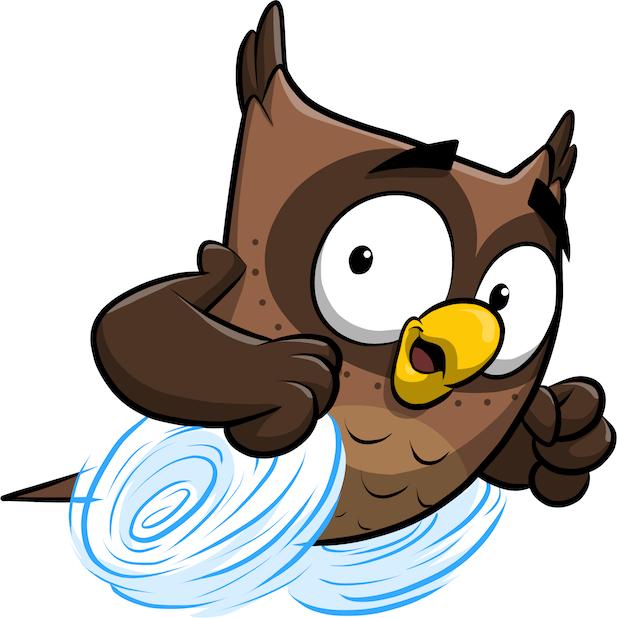 ReadMe Owlbert messages sticker-9