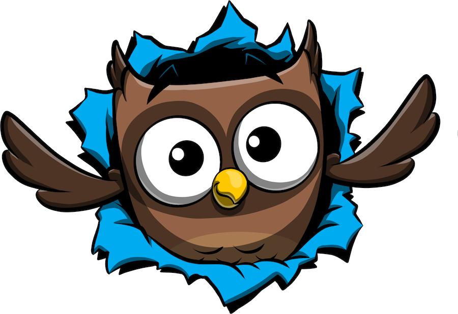 ReadMe Owlbert messages sticker-10