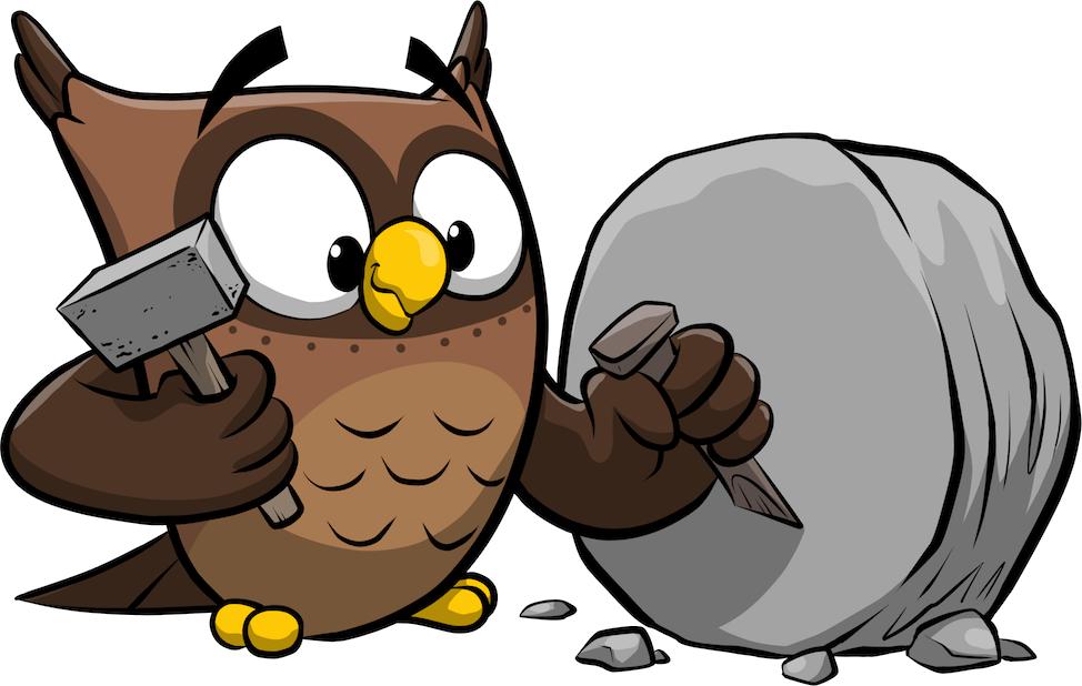 ReadMe Owlbert messages sticker-4