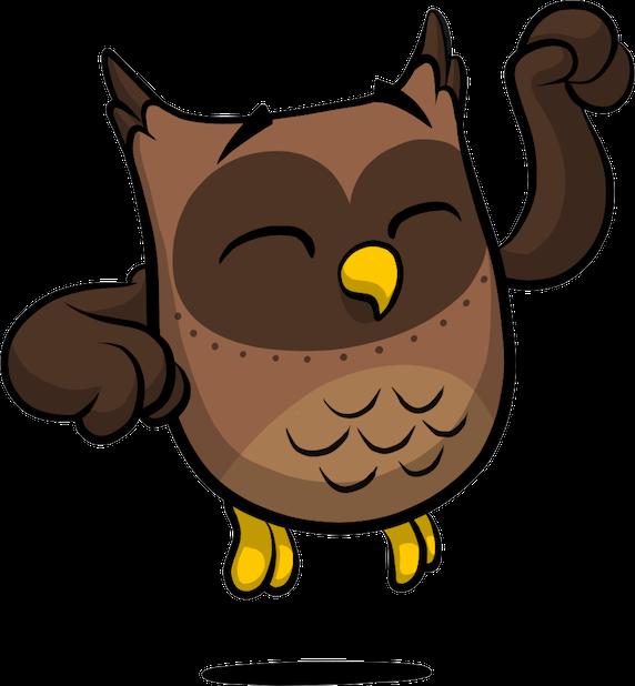 ReadMe Owlbert messages sticker-2