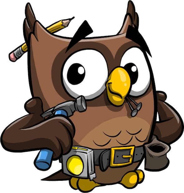 ReadMe Owlbert messages sticker-11