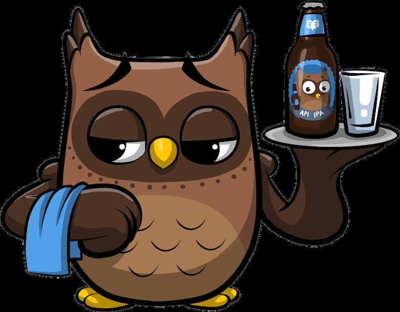 ReadMe Owlbert messages sticker-8
