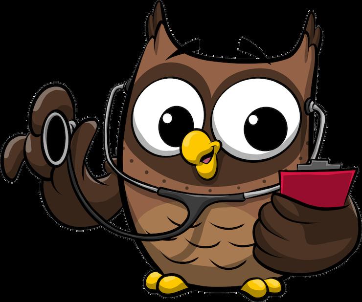ReadMe Owlbert messages sticker-7