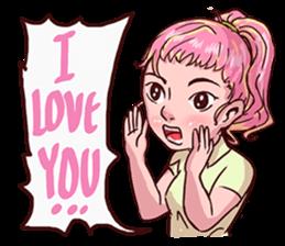 Valentine Of Single Women Stickers messages sticker-4