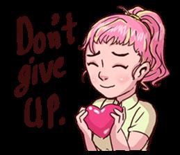 Valentine Of Single Women Stickers messages sticker-7