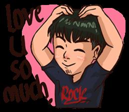 Valentine Of Single Men Stickers messages sticker-3