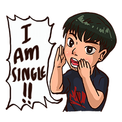 Valentine Of Single Men Stickers messages sticker-6