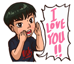 Valentine Of Single Men Stickers messages sticker-0