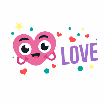Happy Valentines Day Stickers messages sticker-11