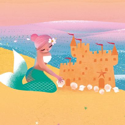 Milla Mermaid Beach Pack messages sticker-10