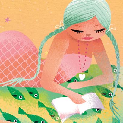 Milla Mermaid Beach Pack messages sticker-7