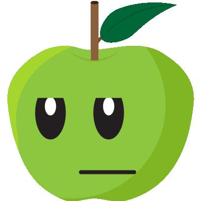 Friendly Fruits Sticker Pack messages sticker-3