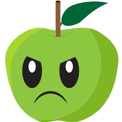 Friendly Fruits Sticker Pack messages sticker-4