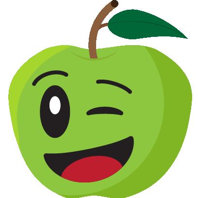 Friendly Fruits Sticker Pack messages sticker-9