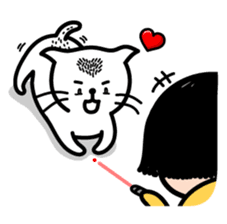 Funny Cat Sticker Pack messages sticker-6