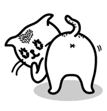 Funny Cat Sticker Pack messages sticker-3