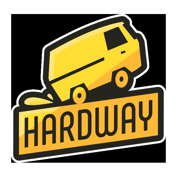 Hardway - Endless Road Builder messages sticker-0