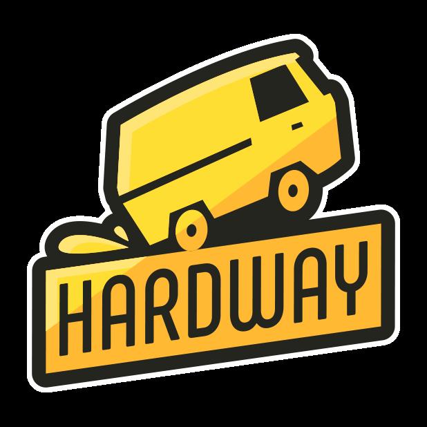 Hardway - Endless Road Builder messages sticker-1