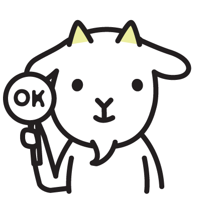 Cute Goat Stickers messages sticker-7