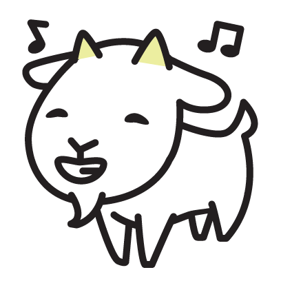 Cute Goat Stickers messages sticker-9