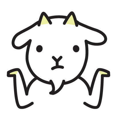 Cute Goat Stickers messages sticker-4