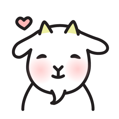 Cute Goat Stickers messages sticker-10