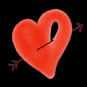 Artful Hearts: Artsy Heart Stickers messages sticker-5