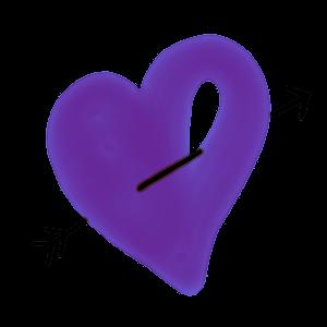 Artful Hearts: Artsy Heart Stickers messages sticker-4