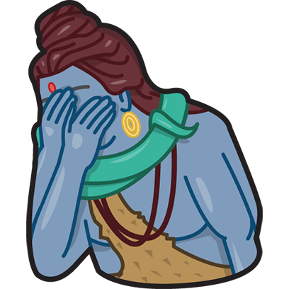 Facepalm stickers for iMessage by gudim messages sticker-11