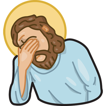 Facepalm stickers for iMessage by gudim messages sticker-10