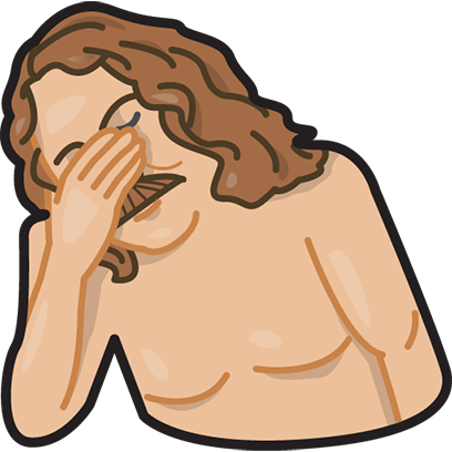 Facepalm stickers for iMessage by gudim messages sticker-4