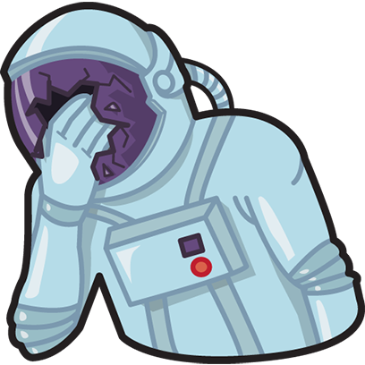 Facepalm stickers for iMessage by gudim messages sticker-6