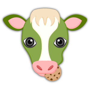 Saint Patrick's Day Cow Emoji Stickers messages sticker-5