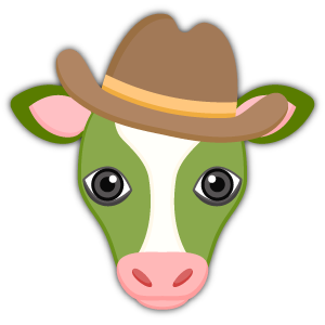 Saint Patrick's Day Cow Emoji Stickers messages sticker-7