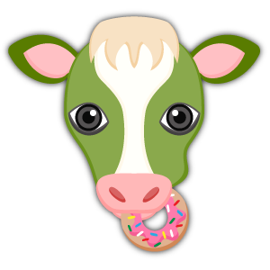 Saint Patrick's Day Cow Emoji Stickers messages sticker-11