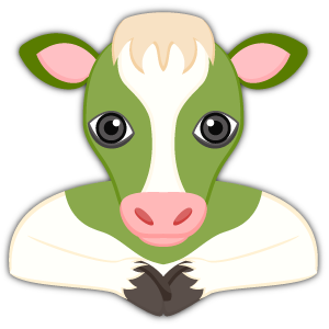 Saint Patrick's Day Cow Emoji Stickers messages sticker-0