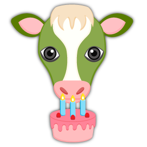Saint Patrick's Day Cow Emoji Stickers messages sticker-2