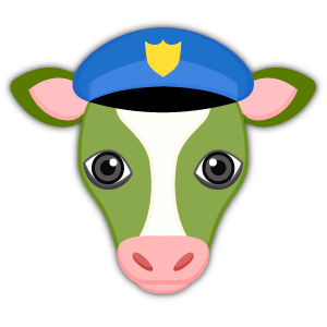 Saint Patrick's Day Cow Emoji Stickers messages sticker-6