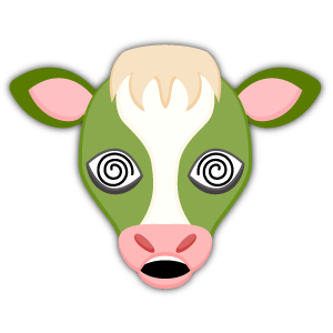 Saint Patrick's Day Cow Emoji Stickers messages sticker-10